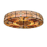Ceiling Lamp Light Dining Room Tiffany Fixture Inch Living Room