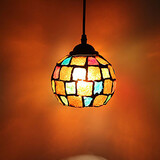 Glass Restoring Chandelier Light Led Lamp