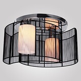 Feature For Mini Style Metal Modern/contemporary Electroplated Flush Mount Dining Room Max 40w Hallway Living Room