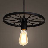Retro Wrought Iron Lamps Chandeliers American Loft Pendant Restaurant Bar Industrial Style