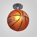 Bedroom Basketball Hallway Flush Mount Living Room Modern Ceiling Lamp Restaurant Fixture
