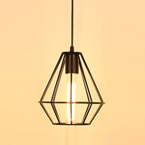 Living Room Vintage Country Dining Room Retro Metal Pendant Light Bedroom E26/e27