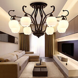 Chandelier Traditional/classic Dining Room Bedroom Painting Feature For Mini Style Metal Living Room