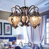 Ancient Pastoral European Chandelier Retro