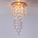 Pendant Lights Mini Style Dining Room Gold Feature Contemporary 3w Crystal