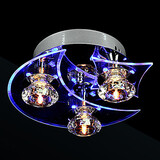 Crystal Living Chandelier Modern Led Lights
