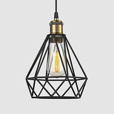 Fixture Garage Black Loft Light Max 60w Metal Pendant Lights Game Room Retro