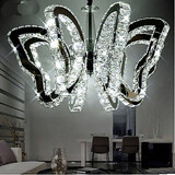 Luxury Butterfly Crystal Modern Led Lamp Restaurant