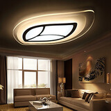 Modern/contemporary Bedroom Dining Room Living Room 30w Study Room Flush Mount Led Metal Office