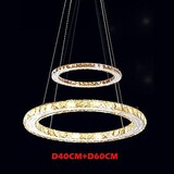 Pendant Light Amber 60cm Fixture Modern Lamps Rings Ceiling
