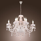Chandelier Feature Living Room Glass Dining Room Kitchen Modern/contemporary Candle Style Electroplated
