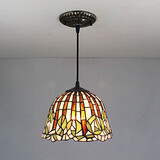 Entry Hallway Pendant Light Tiffany Painting Feature For Mini Style Metal 25w Traditional/classic