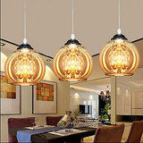 Glass Pendant Lamp Ball Three