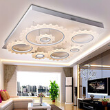 Silver Flush Mount Bedroom 1w Living Room Feature For Led Metal Modern/contemporary