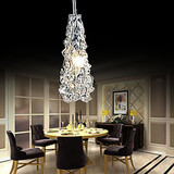 Classic Transparent Glass Light Chandelier 100