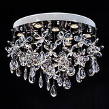 Flush Mount Lights Modern Lighting Crystal Clear Lamp
