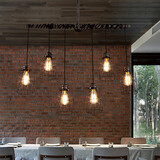 Cafe Chandelier Nordic Personality Creative Art Pipes