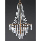 Brass Chandelier Country Feature For Crystal Retro Modern/contemporary Lodge Antique