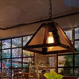 Warehouse Angle Iron Restaurant Retro Chandelier Modern Bar Single Head