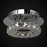 Flush Mount Led Metal Feature For Crystal Modern/contemporary Bedroom Entry Outdoor