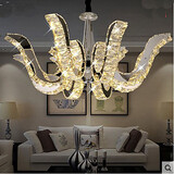 Modern Led Candle Crystal Pendant Lamp Lamp Luxury