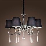Modern/contemporary Traditional/classic Vintage Feature For Candle Style Metal Living Room Lodge Chandelier Rustic Island Chrome