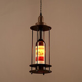 House Bottle Drop Decorate Pendant Lamp Indoor Light American Retro