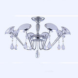 Minimalist Led Modern Iron Chandelier Shaped