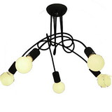 Chandelier Painting Modern/contemporary Bedroom Feature For Candle Style Metal Max 60w