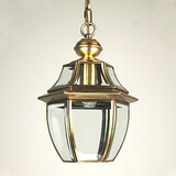 Mini Style Bedroom Lantern Dining Room Electroplated Pendant Lights Living Room Traditional/classic