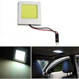 LED Light Dome Festoon License Plate COB Lamp T10 8W Car Interior