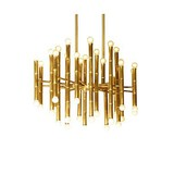 Chandelier Designers Metal Living Room Hallway Modern/contemporary Feature Electroplated Dining Room