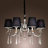 Chandelier Rustic Lodge Vintage Modern/contemporary Traditional/classic Island Chrome Feature For Candle Style Metal Living