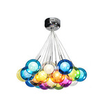 Modern Globe Glass Pendant Light 1156 100 Color Lights Bubble