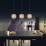Modern/contemporary Kids Room Chrome Metal Game Room Kitchen Pendant Lights Bedroom 40w