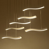 90w Pendant Lights Study Room Dining Room Led Fashion Acrylic