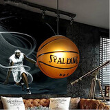 Pendant Cafe Retro Basketball Glass