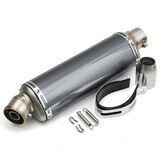Stainless Steel Universal 38-51mm Motorcycle Exhaust Muffler Pipe