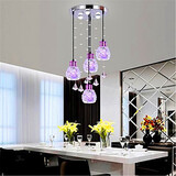 Pendant Crystal Dining Led Pendant Lamp Head Modern
