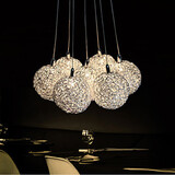 Bedroom Aluminum Home Furnishing Living Room Pendant Light Light Dining Room Decorative Led