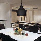 Black 100 Pendant Light Retro Design Vintage