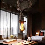 Creative Personality Rope Chandelier Hemp
