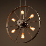 Wheel Cafe Wind Personality Chandelier Creative