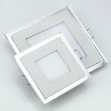 Led Double Ultra Color Led Ceiling Light 6w