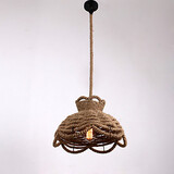 Rope Contemporary Lighting Pendant Lights Mini Style Modern Country