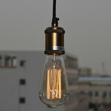Country Office Entry Hallway Study Room Painting Feature For Mini Style Metal Max:60w Pendant Light