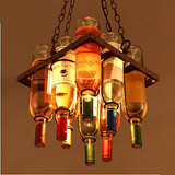 Bar Personality Sitting Droplight Restaurant Bottle Bars Room