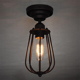 Fixture Flush Mount Lights Mini Ceiling Lamp Kitchen Light Simple Vintage Game Room