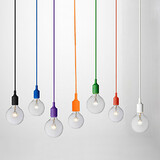 Mini Style 1156 Max 60w Pendant Lights Game Room Painting