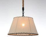 Pendant Yellow Drop Metal Light Lights Vintage Style